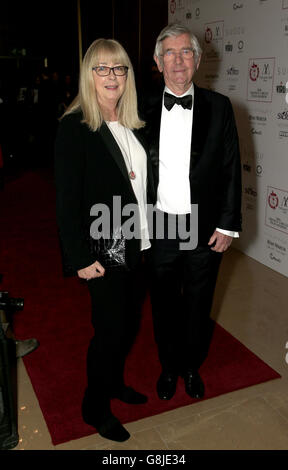 Tom Courtenay (right) attending the London Critics' Circle Film Awards at the May Fair Hotel, Central London. PRESS ASSOCIATION Photo. Picture date: Sunday 17th January, 2016. See PA story SHOWBIZ Critics. Photo credit should read: Jonathan Brady/PA Wire.
