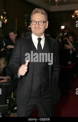 Sir Kenneth Branagh attending the London Critics' Circle Film Awards at the May Fair Hotel, Central London. PRESS ASSOCIATION Photo. Picture date: Sunday 17th January, 2016. See PA story SHOWBIZ Critics. Photo credit should read: Jonathan Brady/PA Wire.