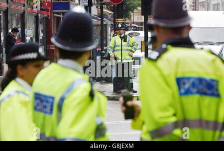 London Terrorist Attacks - Stock Photo