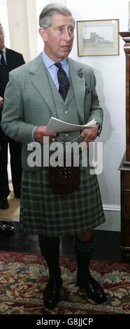 Prince Charles - North Highland Initiative - Castle of Mey - Stock Photo