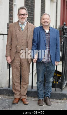 Reeves & Mortimer tour photocall - Stock Photo