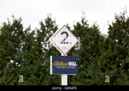 Kempton Park Races - William Hill Lanzarote Day - Stock Photo