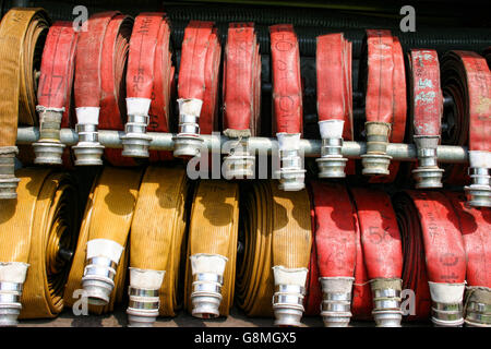 Fire hoses - Stock Photo