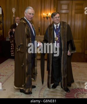 Prince Charles Worshipful Company of Brewers - Stock Photo