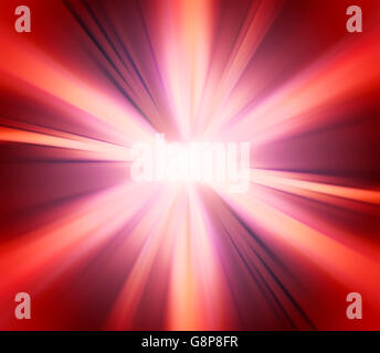 Abstract Magenta Red Explosion Background