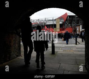 Charlton Athletic v Reading - Sky Bet Championship - The Valley - Stock Photo