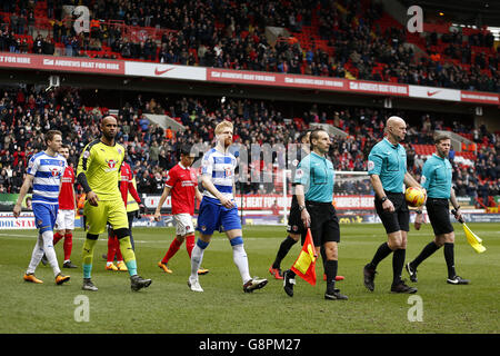 Charlton Athletic v Reading - Sky Bet Championship - The Valley - Stock Photo