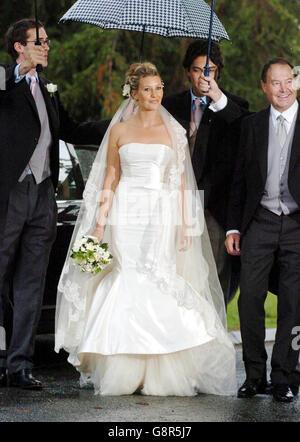 Royal Wedding Sara Buys and Tom Parker Bowles Rotherfield