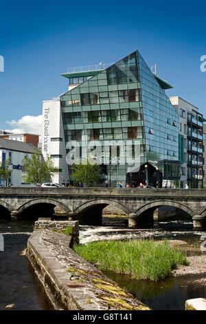 Garavogue River Sligo Town County Sligo Ireland Poet Dramatist Stock Photo Royalty Free