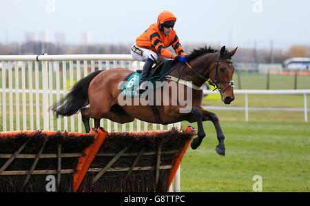 Grand National Day - Crabbie's Grand National Festival - Aintree Racecourse - Stock Photo