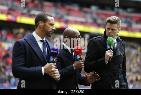 Crystal Palace v Watford - Emirates FA Cup - Semi-Final - Wembley Stadium - Stock Photo