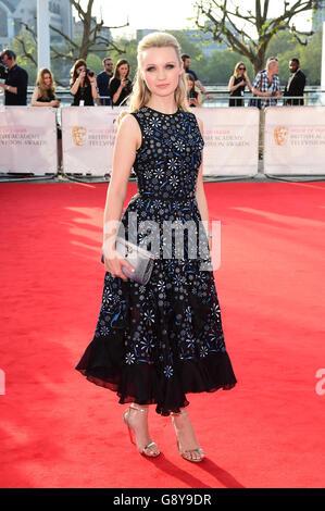 House of Fraser BAFTA TV Awards 2016 - Arrivals - London - Stock Photo