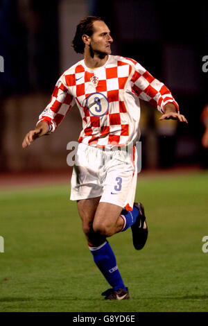 Soccer - FIFA World Cup 2006 Qualifier - Group Eight - Croatia v Sweden - Maksimir Stadium - Stock Photo