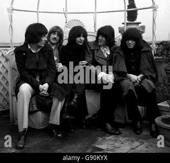 Music - Deep Purple - Dorchester Hotel, London - 1969 - Stock Photo