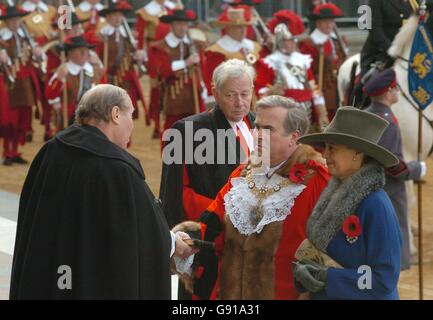 New Lord Mayor of the City of London - Stock Photo
