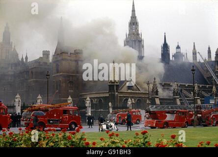 British Crime - Terrorism - IRA Mainland Bombing Campaign - London - 1971 - Stock Photo