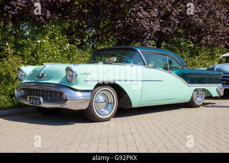 1957 Oldsmobile Starfire 98 Holiday Coupe - Stock Photo