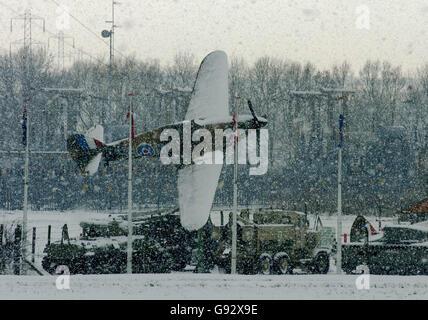 WEATHER Snow - Stock Photo