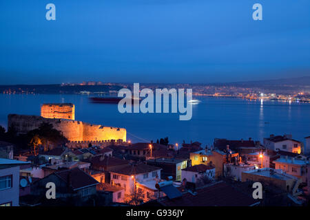 The Dardanelles and Castle ( Canakkale ) - Stock Photo