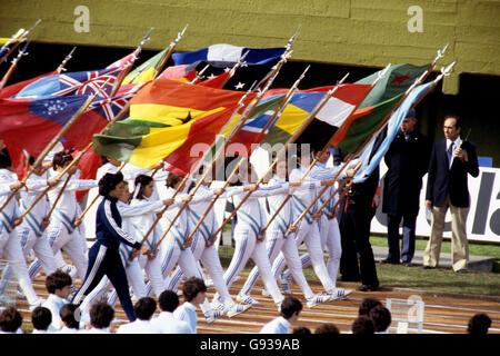 Soccer - World Cup Argentina 1978 - Opening Ceremony - Estadio Monumental - Stock Photo