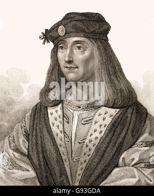 James IV, 1473-1513, King of Scots - Stock Photo