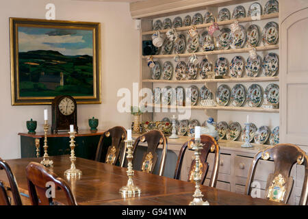 A Large Period Kitchen Dresser In The Corner Of With Table And