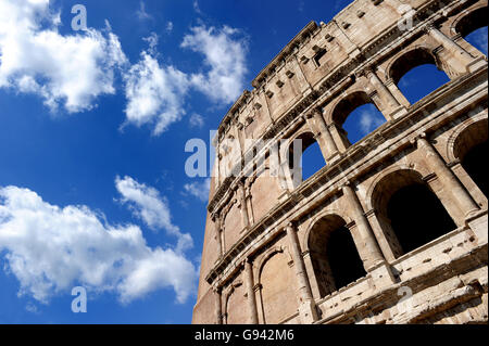 Rome, Italy. The Imperial Fora. Colosseum. Picture by Paul Heyes, Wednesday June 01, 2016.  Rome, Italy. Picture - Stock Photo