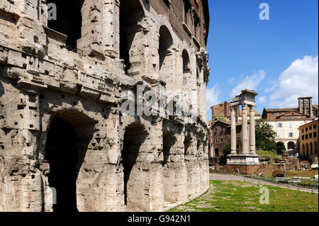 Rome, Italy. Theatre of Marcellus. Picture by Paul Heyes, Wednesday June 01, 2016. - Stock Photo
