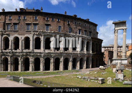 Rome, Italy. Theatre of Marcellus. Picture by Paul Heyes, Wednesday June 01, 2016. Rome, Italy. - Stock Photo