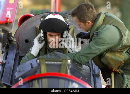 DEFENCE Red Arrows - Stock Photo