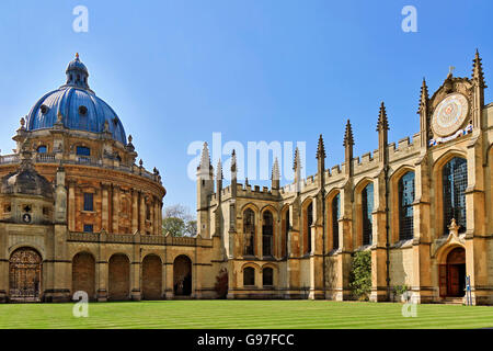 UK Oxford All Souls College - Stock Photo