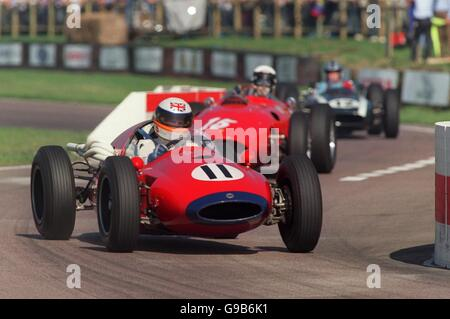Motor Racing - Goodwood Revivalist Meeting - The Richmond Trophy - Stock Photo