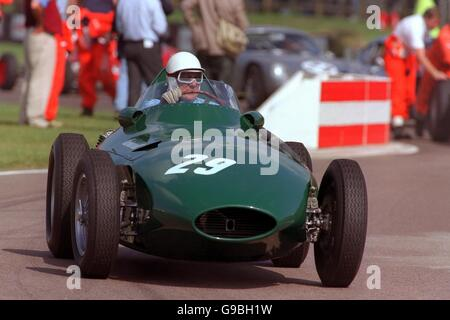 Motor Racing - Goodwood Revivalist Meeting - The Dream Grid - Stock Photo