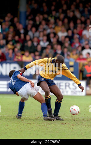Soccer - Barclays League Division Two - Oxford United v Ipswich Town - Stock Photo