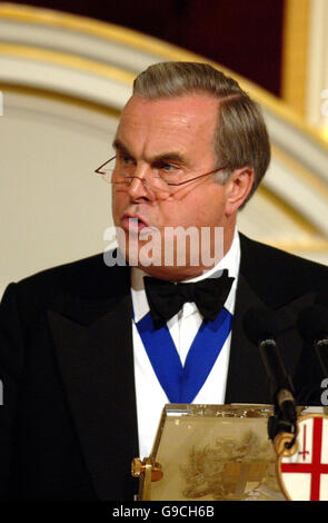 City of London Annual Dinner to the Bankers and Merchants - Stock Photo