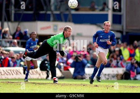 Soccer - Barclays League Division Two - Ipswich Town v Brighton And Hove Albion - Stock Photo