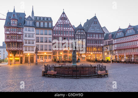 Frankfurt am Main, Marktplatz - Stock Photo