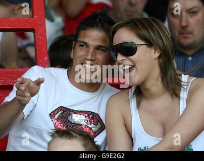 Soccer - Friendly match - Wrexham v Liverpool - Stock Photo