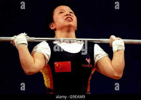 Weightlifting - Sydney 2000 Olympics - Women's 53kg Division - Stock Photo