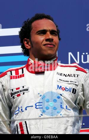 Motor Racing -  Lewis Hamilton Feature - Stock Photo