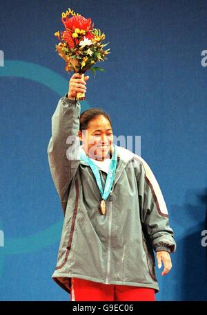 Sydney 2000 Olympics -Women's Weightlifting - 53kg - Stock Photo