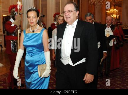 Lord Mayor's Dinner For Her Majesty's Judges - Stock Photo