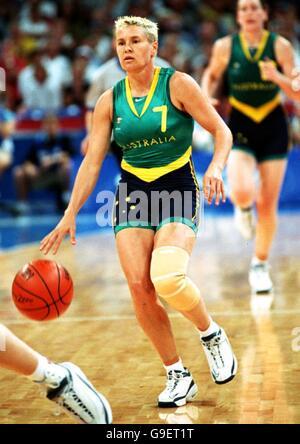 Sydney 2000 Olympics - Women's Basketball - Brazil v Australia - Stock Photo