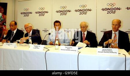 London 2012 announces construction partner - Stock Photo