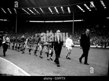 Soccer - FA Cup Final - Leeds United v Liverpool - Wembley Stadium - Stock Photo