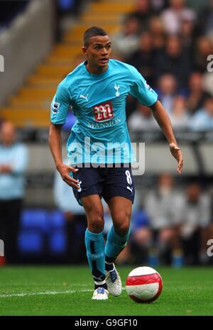 Soccer - FA Barclays Premiership - Bolton Wanderers v Tottenham Hotspur - Reebok Stadium - Stock Photo