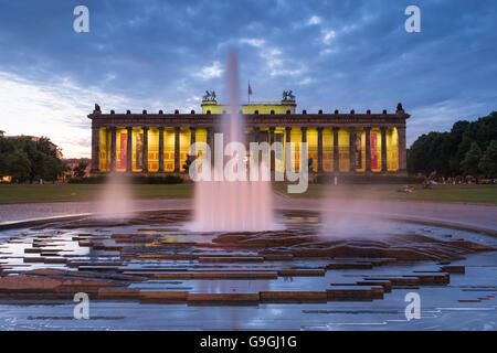 The Altes Museum (Old Museum) is Berlins oldest museum (1830) located in the UNESCO-listed Heritage site. - Stock Photo
