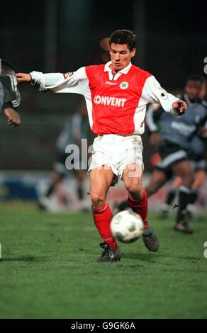 German Soccer - Bundesliga Two - Rot-Weiss Oberhausen v SSV Reutlingen - Stock Photo
