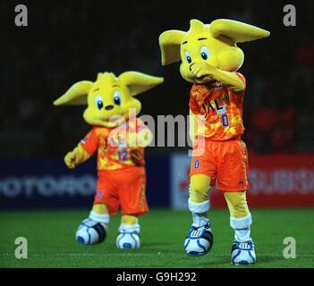 Asian Soccer - Asian Super Cup - Final - Shimizu S.Pulse v Al Hilal - Stock Photo