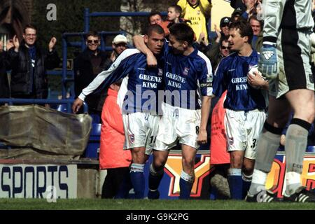 Soccer - FA Carling Premiership - Ipswich Town v Coventry City - Stock Photo